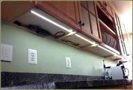 under cabinet lighting led diy strip cupboard lights battery best