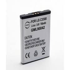 Handy Akku für LG C3380 - GML90042 ...