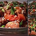 Рецепт свинина помидоры перец болгарский