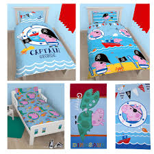 Peppa Pig Bedroom Stuff Official Peppa Pig George Bedding Duvet Cover Sets Room Decor Boys