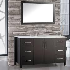 single bathroom vanities ideas.  Single Orren Ellis Prahl Modern 60 Single Sink Bathroom Vanity Set With Throughout Vanities  Ideas 12 On
