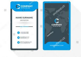 Double Sided Business Cards Template Word Free Sided Business Card