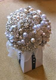 How To Make Wedding Bouquets Made Out Of Brooches
