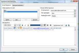 Outlook Signature Format Insaat Mcpgroup Co