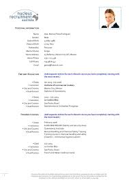 Resume Examples For Chefs Resume For Study