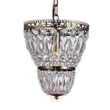 Hanglamp Sundsby Kristal Lampenkap Messing Ant
