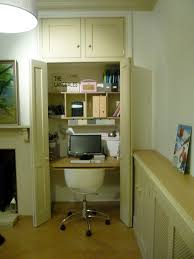 Hideaway Home Office In Cupboard  F