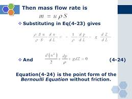 bernoulli 39 s equation pump. 51 then mass flow rate is  substituting in eq(4-23) gives and (4-24) equation(4-24) the point form of bernoulli equation without friction. 39 s pump