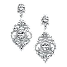 cubic zirconia chandelier earrings eimatco intended for elegant residence cz chandelier earrings ideas