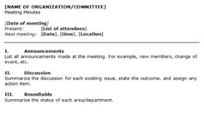 corporate annual meeting minutes sample meeting minutes template
