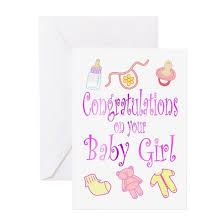 Babygirl Cards Congratulations Baby Girl Greeting Card