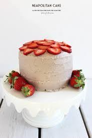 HEALTHY GRAIN FREE SUGAR FREE Neapolitan layered cake with creamy dairy free strawberry low sugar frosting purelytwins