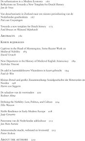 Yearbook Of The History Of The Nobility Jahrbuch Für Adelsgeschichte