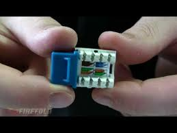 cat e wiring networking forums networking 101 how to punch down cat5 e cat6 keystone jack firefold acirc