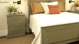 bedside table height standard lamp best for