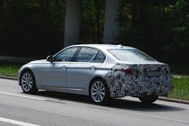 2016 BMW 3 Series Facelift Long Wheelbase Model Spied Before ...