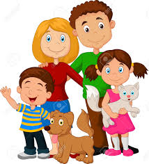 Image result for cartoon familie