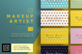 makeup artist business card 85