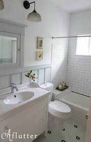 Bathroom Remodel Blog Cool How Sarah Made Her Small Bungalow Bath Look Bigger Hooked On Houses