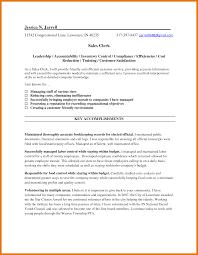 7 Sales Clerk Resume Sample Budget Reporting