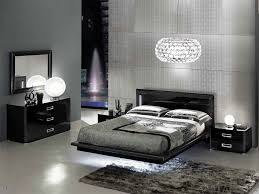 contemporary platform bed modern king size bedroom sets black and ...