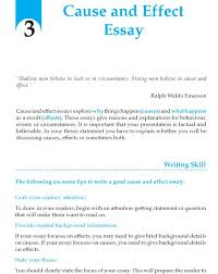 examples of cause and effect essays ideas about cause and view larger