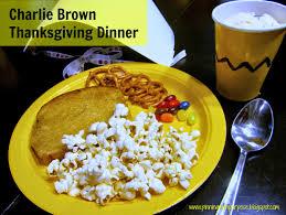 Charlie Brown Thanksgiving Dinner