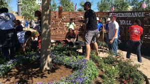 dedicated volunteers create las vegas healing garden in just 4 days