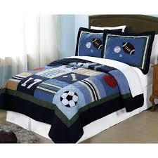 sports bedding hart kids blue all state 3 piece quilt set circo full