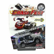 Машинка <b>1TOY CrashFest</b> Rhino 2в1 — купить в интернет ...