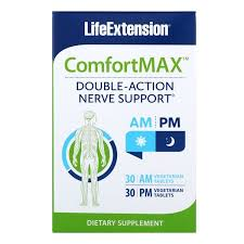 Life Extension, <b>ComfortMax</b>, <b>Double-Action Nerve Support</b>, For AM ...