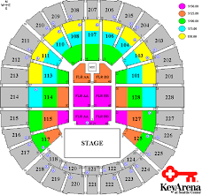 Key Arena Interactive Seating Map Seattle Keyarena Price