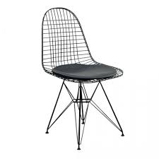 wirecutter desk chair dkr wire dining chair eames replica black frame black seat modern dkr wire
