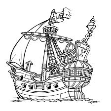 Piet Piraat Kleurplaten Kleurplatenpaginanl Boordevol Coole