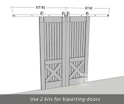 bedroom exterior sliding barn door track system. Architecture And Interior: Fabulous Bi Parting Barn Door Casa Loxo Pinterest Doors On Hardware From Bedroom Exterior Sliding Track System