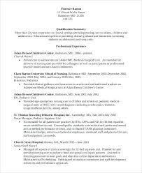 Nursing Resume Objectives Pediatric Nurse Resume Professional Registered Pediatric Nurse 67