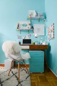 office makeover ideas. office makeover ideas poppin aqua file cabinet workhappy