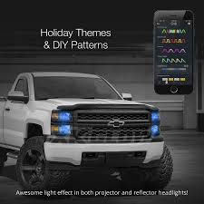 XKchrome iOS Android Smartphone App Bluetooth XKchrome 2 in 1 LED ...