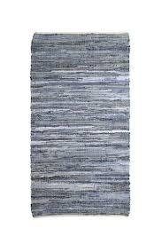 hk living denim rug front cropped image