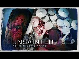 Chords For Slipknot Unsainted Drum Cover Chart