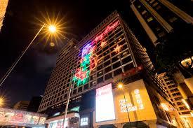 festive lighting. festive lighting of the royal garden hotel