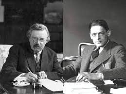 g k chesterton t s eliot friends or enemies the  friends