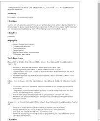 Teachers Aide Resume
