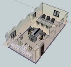 3d office design. Plain Design Office Suite Design Intended 3d Design
