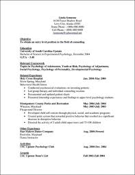 psychology resume examples resume examples psychology