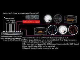 defi control unit for adv bf and cr gauges tdi north how to install defi control unit at Defi Meter Wiring Diagram