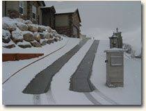 17 best images about home heated sidewalk driveway radiant heated driveway and snowmelt systems electric radiant snow melting systems can be installed in new or existing driveways and parking areas