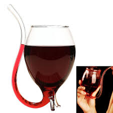 novelty vampire wine glass cup with drinking straw ping ping square com au bargain ping square