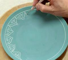 scratching through underglaze ideas for finishing clay organized by stages of painting pottery