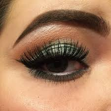trendy eye makeup for models